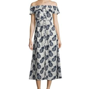 NWT! Lucca Couture Pinapple Off Shoulder Dress